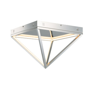 ET2 E20811-PC Pyramid LED Flush Mount in Polished Chrome