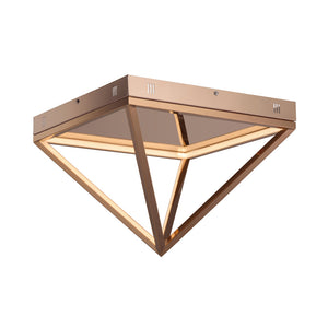 ET2 E20811-RG Pyramid LED Flush Mount in Rose Gold