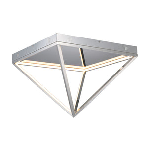 ET2 E20812-PC Pyramid LED Flush Mount in Polished Chrome