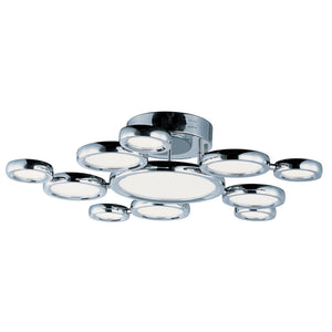 ET2 E21146-01PC Timbale 11-Light Ceiling Mount in Polished Chrome