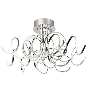ET2 E21410-PC Chaos LED Ceiling Mount in Polished Chrome