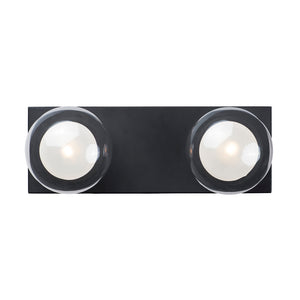 ET2 E21452-93BK Pod LED 2-Light Wall Sconce in Black
