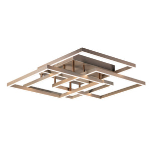 ET2 E21518-CHP Traverse LED Flush Mount in Champagne