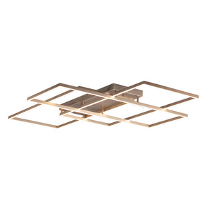 ET2 E21519-CHP Traverse LED Flush Mount in Champagne