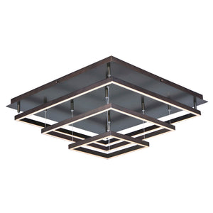 ET2 E22408-BZ Quad LED Flush Mount in Bronze