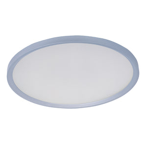 ET2 E22442-11MS Moonbeam LED Flush Mount in Matte Silver