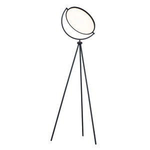 ET2 E23299-BK Paddle LED Floor Lamp in Black