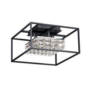 ET2 E23300-20BK Zephyr LED Flush Mount in Black