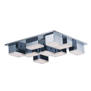 ET2 E24468-160PC Pizzazz LED Flush Mount in Polished Chrome