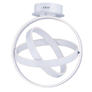 ET2 E24580-MW Gyro LED Pendant in Matte White