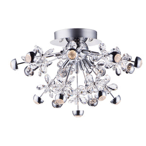 ET2 E24791-20PC Nova LED Pendant in Polished Chrome