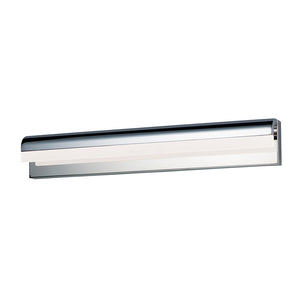 "ET2 E24846-90PC Waterfall LED 30"" Bath Vanity in Polished Chrome"