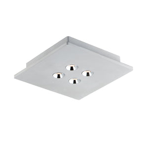 ET2 E25012-GY Peg 4-Light LED Flush Mount in Gray
