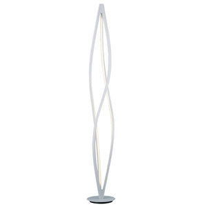 ET2 E41398-11MW Cyclone LED Floor Lamp in Matte White