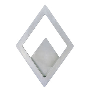 ET2 E41493-SA Alumilux LED Outdoor Wall Sconce in Satin Aluminum