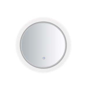 ET2 E42022-83 Acrylic LED Round Mirror in