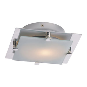ET2 E53832-09SN Piccolo LED 1-Light LED Flush/Wall Mount in Satin Nickel