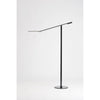 Equo Floor Lamp (Warm Light; Black) ELX-A-W-BLK-FLR