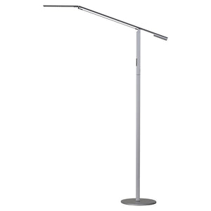 Equo Floor Lamp (Warm Light; Silver) ELX-A-W-SIL-FLR