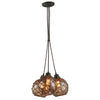 Outer Banks 3 Light Pendant By Troy F4754 in Shipyard Bronze Finish