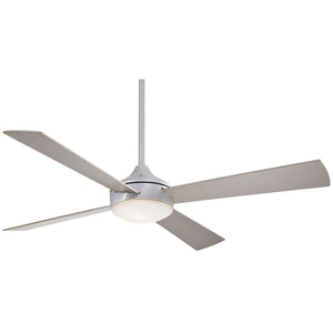 "Aluma 52"" Ceiling Fan In Brushed Aluminum by Minka Aire F521-ABD"