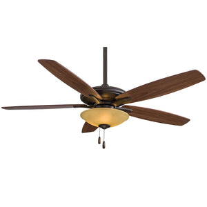 "Mojo 52"" Ceiling Fan In Oil Rubbed Bronze by Minka Aire F522-ORB/TS"