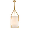 Quantum 6 Light Pendant By Troy F5237 in Gold Leaf Finish