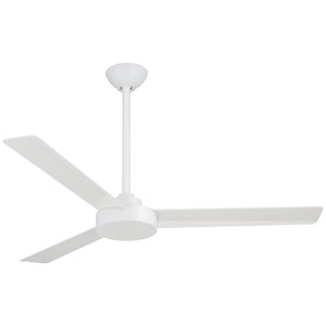 "Roto 52"" Ceiling Fan In Flat White by Minka Aire F524-WHF"