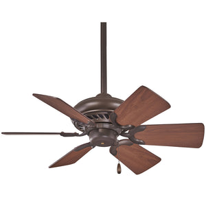 "Supra 32"" Ceiling Fan In Oil Rubbed Bronze by Minka Aire F562-ORB"