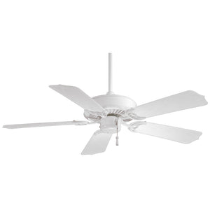 "Sundance 42"" Ceiling Fan In White by Minka Aire F572-WH"