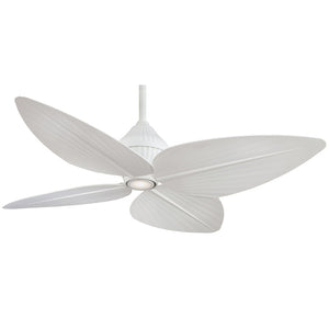 "Gauguin 52"" Ceiling Fan In Flat White by Minka Aire F581-WHF"
