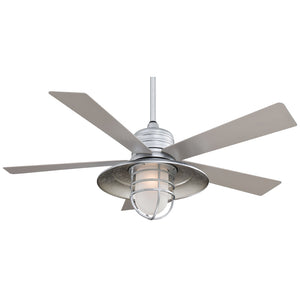 "Rainman 54"" Ceiling Fan In Galvanized by Minka Aire F582-GL"