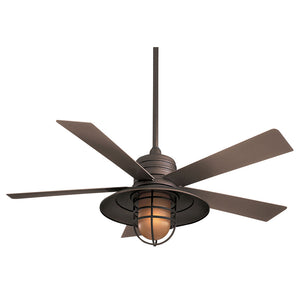 "Rainman 54"" Ceiling Fan In Oil Rubbed Bronze by Minka Aire F582-ORB"