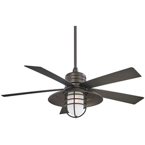 "Rainman 54"" Ceiling Fan In Smoked Iron by Minka Aire F582-SI"