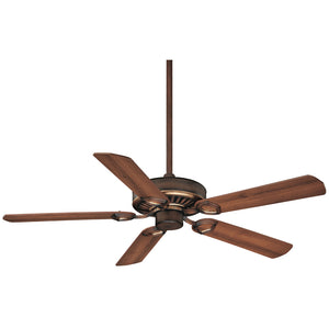 "Ultra-Max 54"" Ceiling Fan In Belcaro Walnut by Minka Aire F588-SP-BCW"