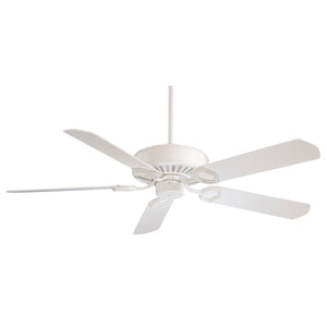 "Ultra-Max 54"" Ceiling Fan In White by Minka Aire F588-SP-WH"