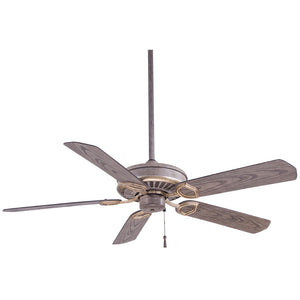 "Sundowner 54"" Ceiling Fan In Driftwood by Minka Aire F589-DRF"