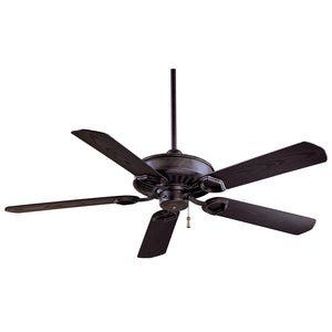 "Sundowner 54"" Ceiling Fan In Heritage by Minka Aire F589-HT"