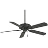"Sundowner 54"" Ceiling Fan In Textured Coal by Minka Aire F589-TCL"