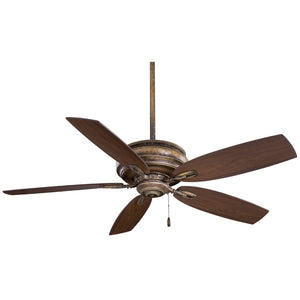 "Timeless 54"" Ceiling Fan In French Beige by Minka Aire F614-FB"