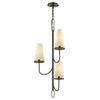 Marcel 3 Light Pendant By Troy F6294 in Pompeii Bronze Finish