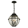 Bunker Hill 3 Light Pendant By Troy F6457 in Vintage Bronze Finish