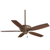 "Classica 54"" Ceiling Fan In Belcaro Walnut by Minka Aire F659-BCW"