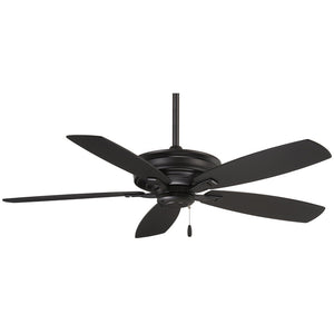 "Kafé 52"" Ceiling Fan In Coal by Minka Aire F695-CL"