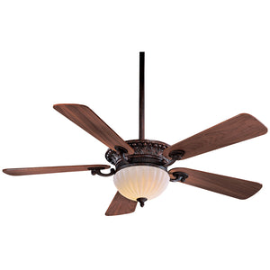 "Volterra 52"" Ceiling Fan In Volterra Bronze by Minka Aire F702-VB"