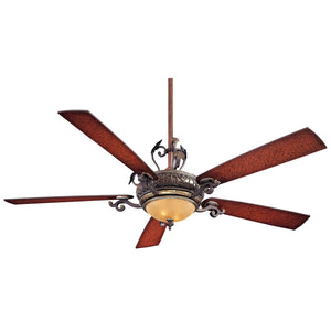 "Napoli 68"" Ceiling Fan In Sterling Walnut by Minka Aire F715-STW"
