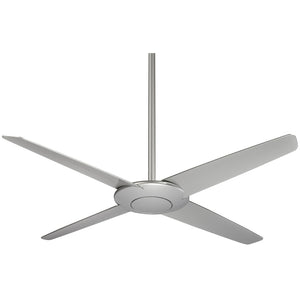 "Pancake 52"" Ceiling Fan In Silver by Minka Aire F738-SL"
