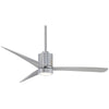 "Mojave 56"" LED Ceiling Fan In Chrome by Minka Aire F829L-CH/SL"
