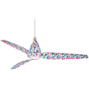 "Tear 60"" LED Ceiling Fan In Flower by Minka Aire F831L-FLR"
