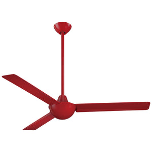"Kewl 52"" Ceiling Fan In Red by Minka Aire F833-RD"